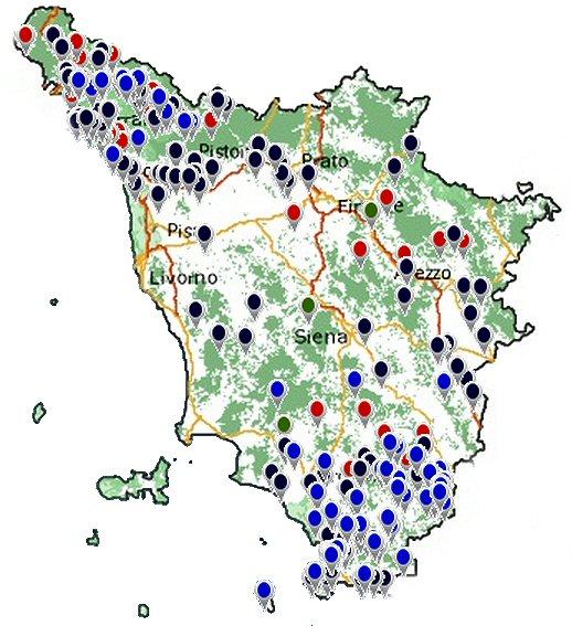 Cartina Interattiva Toscana.Difesa Del Suolo La Mappa Interattiva Regione Toscana
