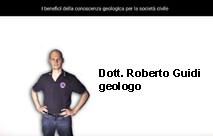 Dott. Roberto Guidi geologo presentazione