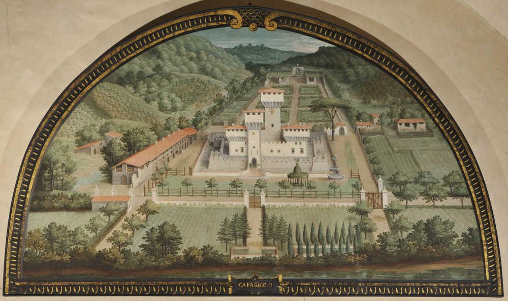 Lunetta di villa di Cafaggiolo -