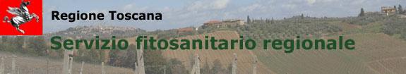servizio fitosanitario regionale della toscana servizio